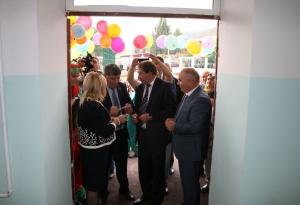 Открытие новой школы в сел. Вачи