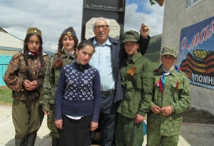 Открытие нового памятника в селе Кани_10