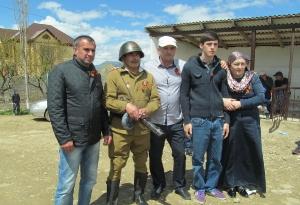 Открытие нового памятника в селе Кани