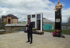 Открытие нового памятника в селе Кани_2