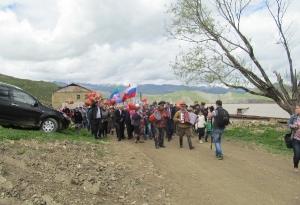 Открытие нового памятника в селе Кани_5