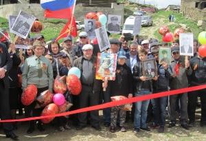Открытие нового памятника в селе Кани_6