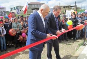 Открытие нового памятника в селе Кани_7