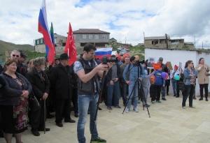 Открытие нового памятника в селе Кани_8