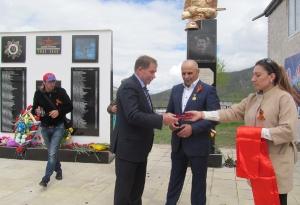 Открытие нового памятника в селе Кани_9
